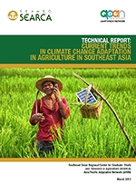 Technical Report: Current Trends in Climate Change Adaptation in Agriculture in Southeast Asia
