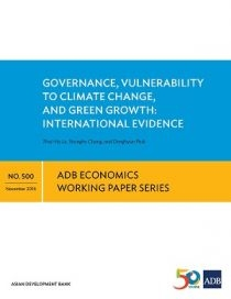 Governance, Vulnerability to Climate Change, and Green Growth: International Evidence