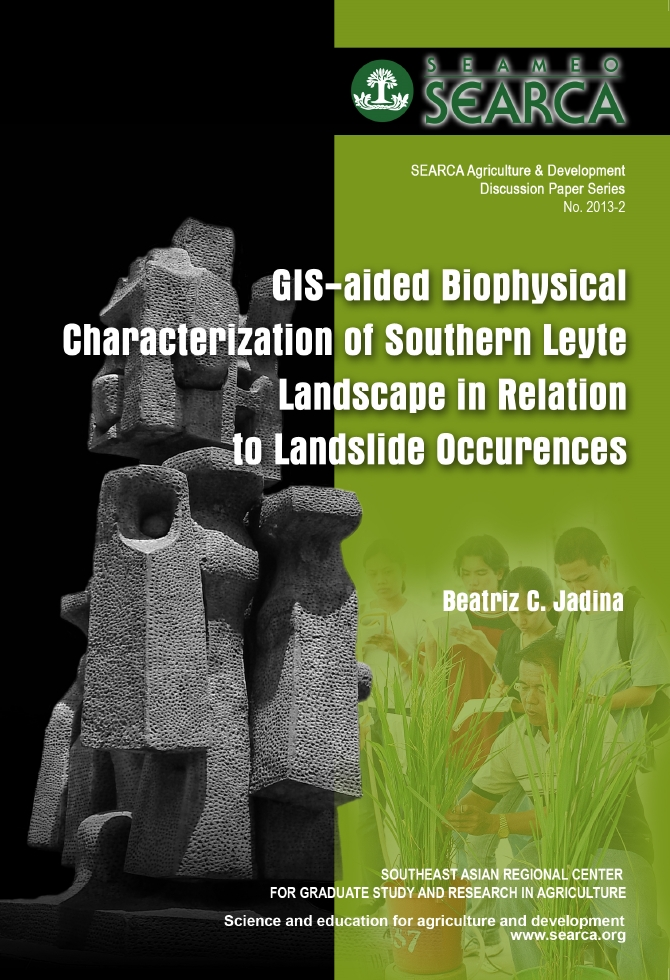 GIS-aided Biophysical Characterization of Southern Leyte Landscape in Relation to Landslide Occurrences